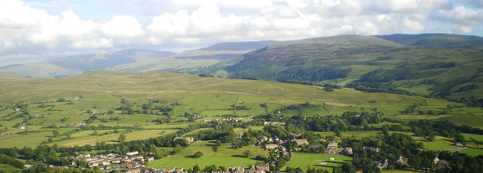 The foothills of the Howgill Fells - Sedbergh