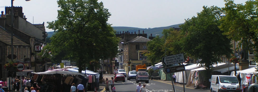 Open air market  - Skipton