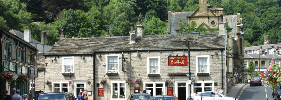 A pub in Hebden Bridge - West Yorkshire
