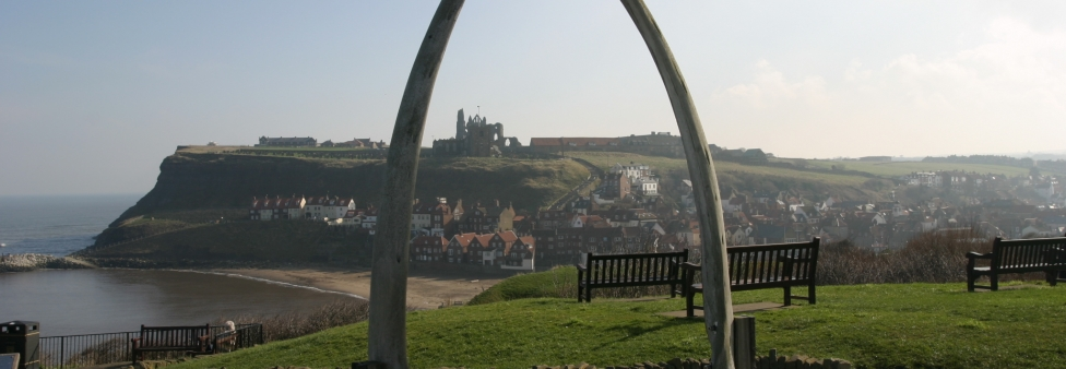 Whitby - Whale bone arch - Whitby