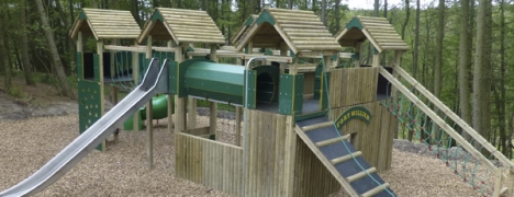Grouse Hill children's play area.