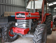 Mr Trotter's tractor collection